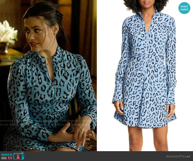 ALC Marcella Dress worn by Maggie Vera (Sarah Jeffery) on Charmed