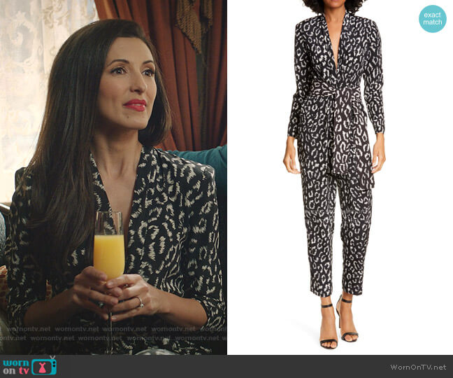 Kieran Jumpsuit by A.L.C. worn by India de Beaufort on Zoeys Extraordinary Playlist