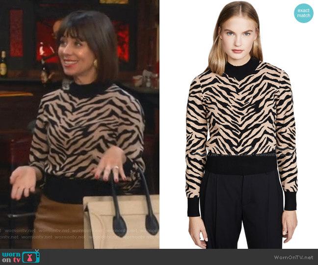 Lola Sweater by A.L.C. worn by Elizabeth (Natasha Leggero) on Broke
