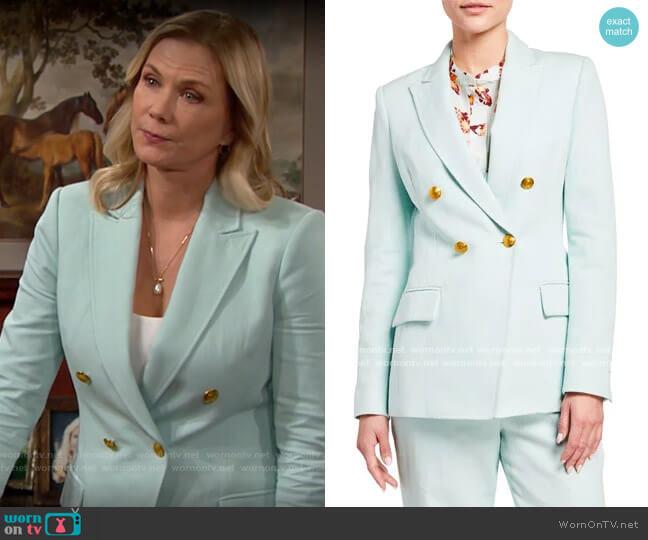ALC Sedgewick Blazer worn by Brooke Logan (Katherine Kelly Lang) on The Bold & the Beautiful