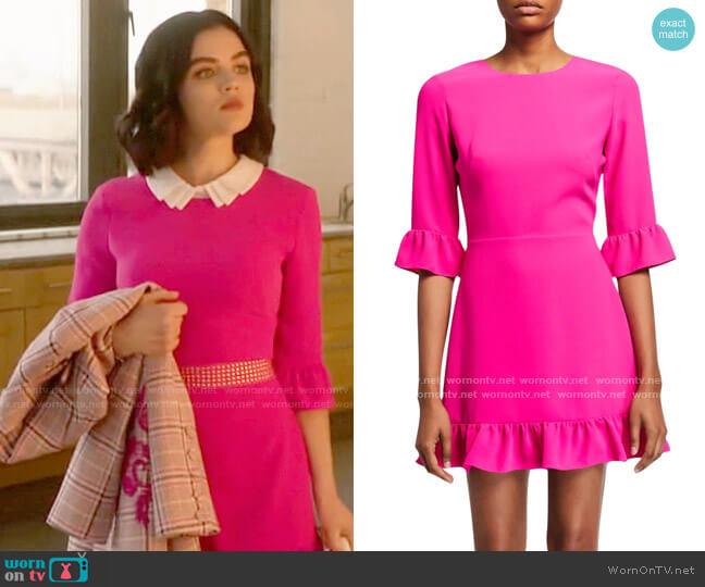 Amanda Uprichard Candice Dress worn by Katy Keene (Lucy Hale) on Katy Keene