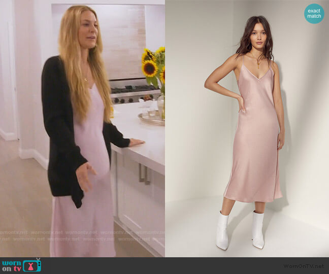 Only Slip Dress by Wilfred worn by Leah McSweeney  on The Real Housewives of New York City