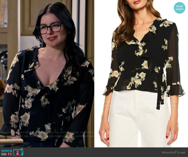 Bardot Catalina Top worn by Alex Dunphy (Ariel Winter) on Modern Family