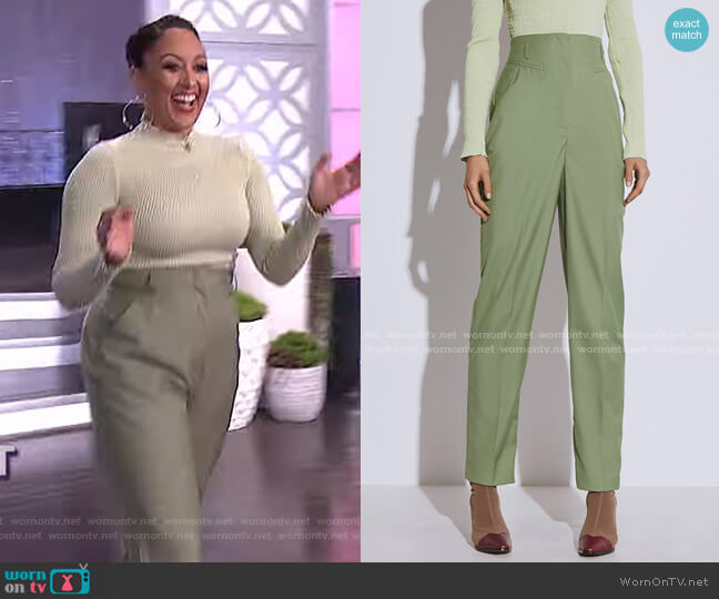 Just The Same Pant by C/Meo Collective worn by Tamera Mowry  on The Real