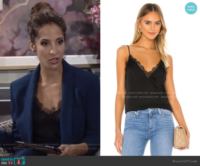 The Chanelle Cami by Cami NYC worn by Lily Winters (Christel Khalil) on The Young & the Restless