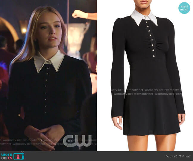 Aubrey Dress by Cinq a Sept worn by Kirby Anders (Maddison Brown) on Dynasty