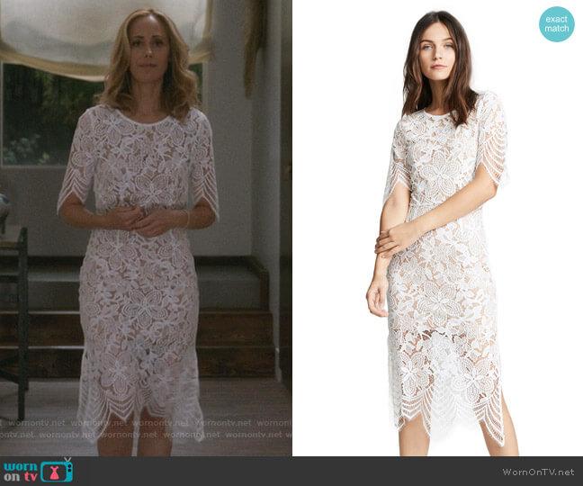 Luna Maxi Dress by For Love & Lemons worn by Teddy Altman (Kim Raver) on Greys Anatomy