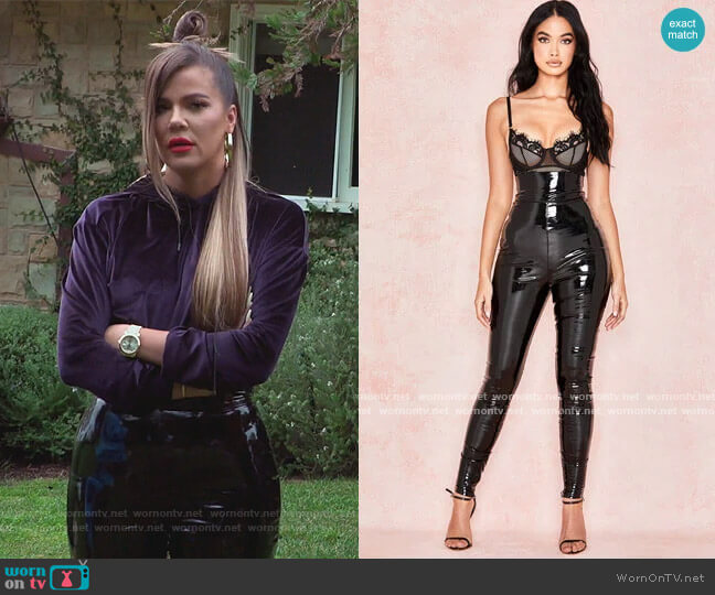 Harmony Pants by House of CB worn by Khloe Kardashian  on Keeping Up with the Kardashians
