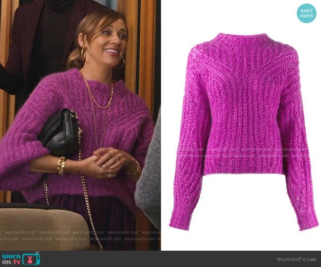 Inko sweater by Isabel Marant worn by Joya Barris (Rashida Jones) on BlackAF