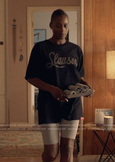 Issa's Slauson t-shirt on Insecure