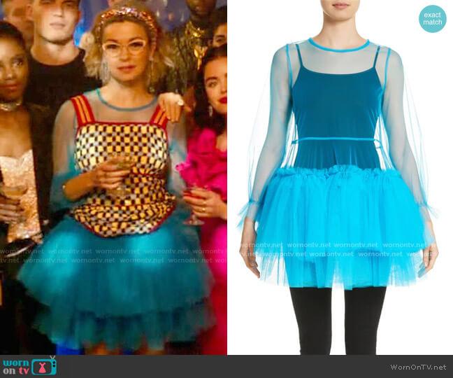 Molly Goddard Agatha Tulle Minidress worn by Pepper Smith (Julia Chan) on Katy Keene