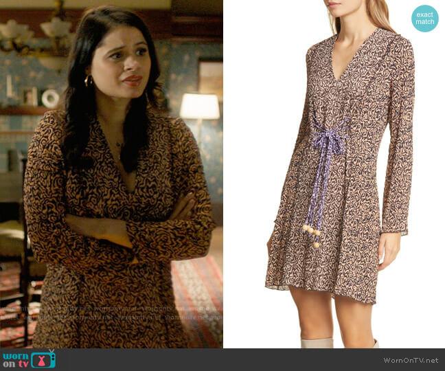Nanushka Suki Dress worn by Mel Vera (Melonie Diaz) on Charmed