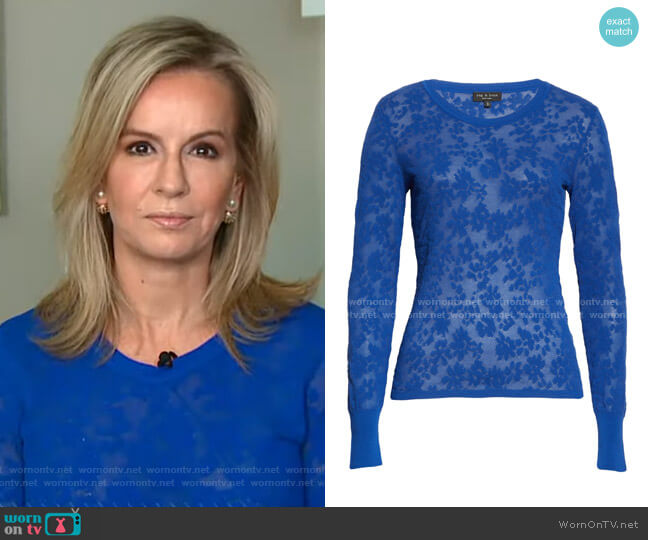 Perry Pullover by Rag & Bone worn by Dr. Jennifer Ashton on GMA