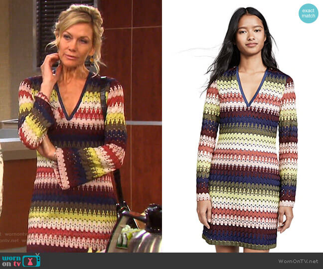Jaime Dress by Ramy Brook worn by Kristen DiMera (Stacy Haiduk) on Days of our Lives
