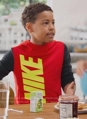 Pop's Nike sweatshirt on BlackAF