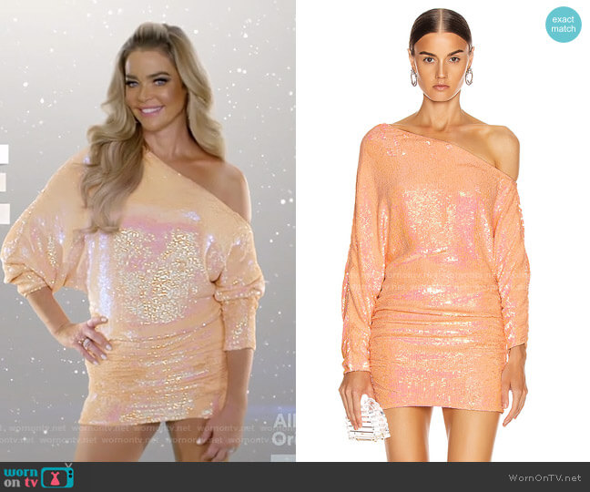 Yasmin Dress by Retrofete worn by Denise Richards  on The Real Housewives of Beverly Hills