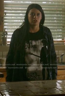 Rosa's The Cure Boys Don't Cry t-shirt on Roswell New Mexico