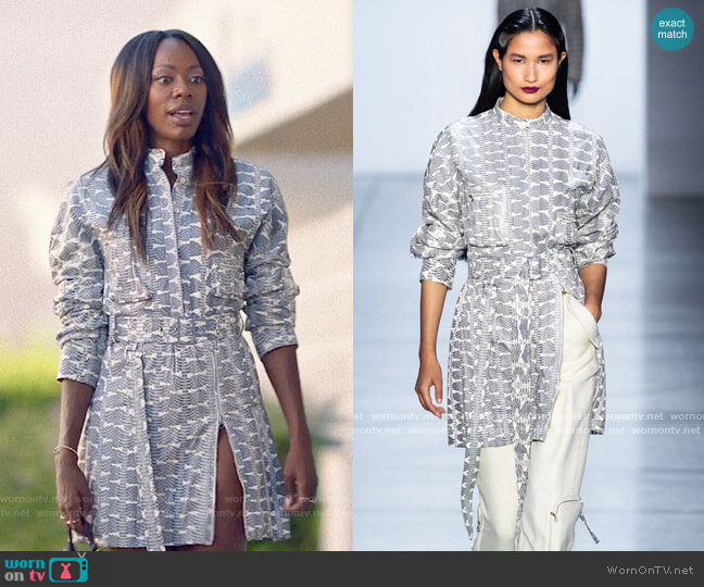 Sally LaPointe Fall 2019 Collection Dress worn by Molly Carter (Yvonne Orji) on Insecure