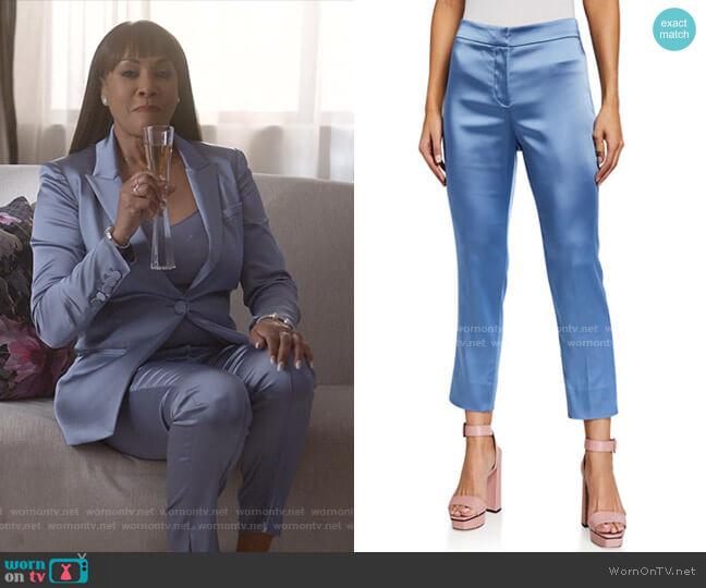 Lago Straight-Leg Pants by Veronica Beard worn by Vivica A. Fox on Empire