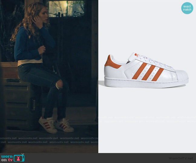 Superstar Shoes by Adidas worn by Courtney Whitemore (Brec Bassinger) on Stargirl