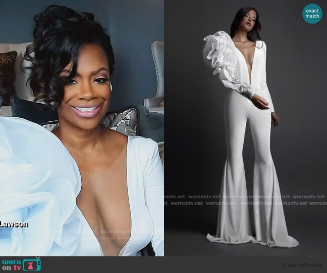 VASL Dress by Albin Dyla worn by Kandi Burruss  on The Real Housewives of Atlanta
