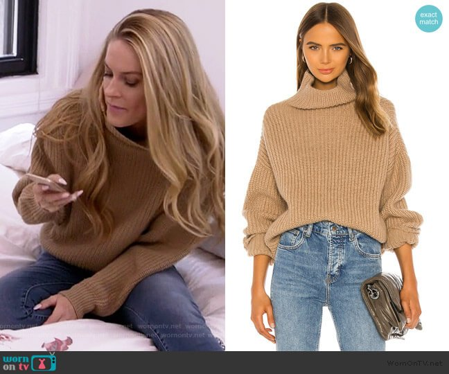 Sydney Sweater by Anine Bing worn by Leah McSweeney  on The Real Housewives of New York City