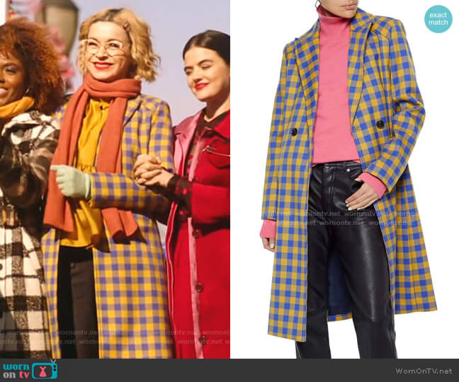 Darcie Coat by Baum und Pferdgarten worn by Pepper Smith (Julia Chan) on Katy Keene