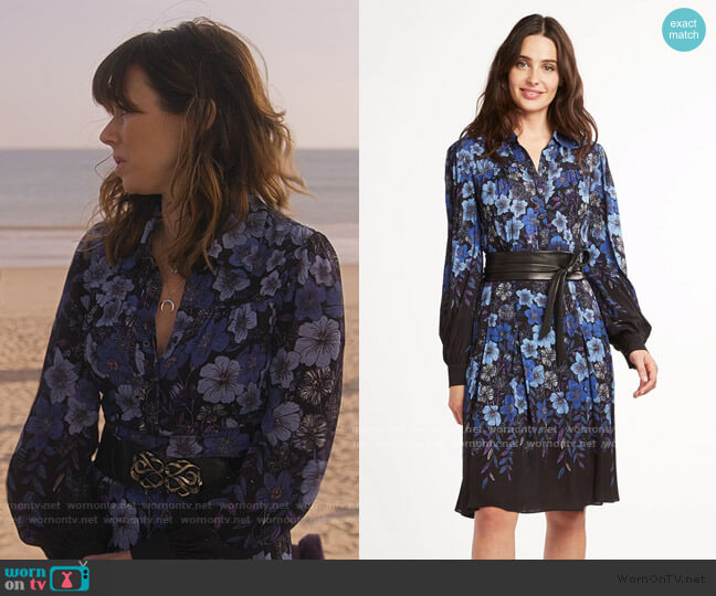 Hellen Dress by Elie Tahari worn by Judy Hale (Linda Cardellini) on Dead to Me