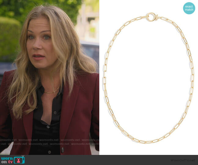 Quinn Ring Set by Gorjana worn by Jen Harding (Christina Applegate) on Dead to Me