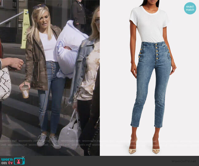 Natasha Jeans by J Brand worn by Tinsley Mortimer  on The Real Housewives of New York City