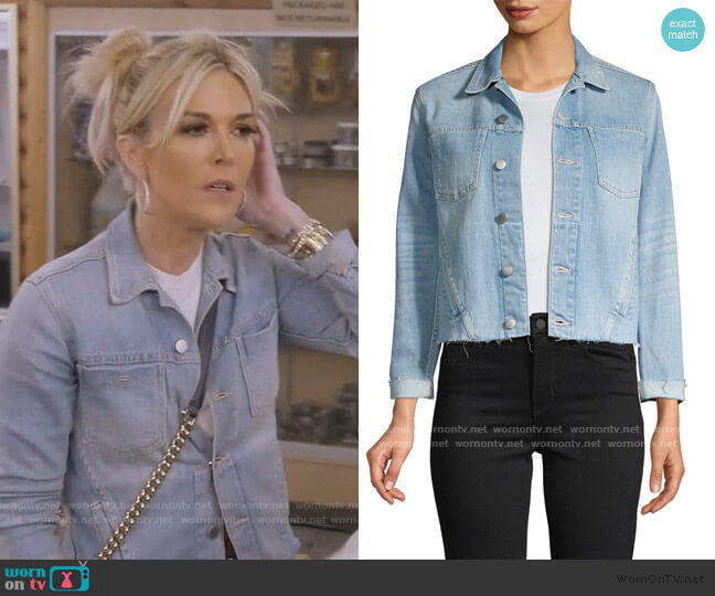 Janelle Jacket by L'Agence worn by Tinsley Mortimer  on The Real Housewives of New York City