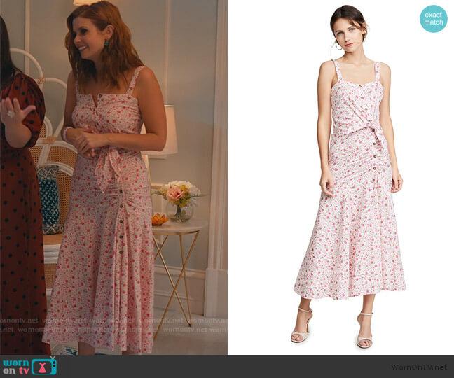 Minka Dress by Likely worn by Maddie Townsend (JoAnna Garcia Swisher) on Sweet Magnolias