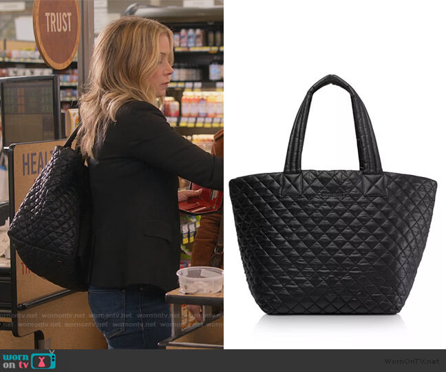 Medium Metro Tote by MZ Wallace worn by Jen Harding (Christina Applegate) on Dead to Me