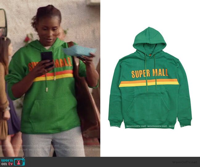 Slauson Supermall Hoodie by Marathon Clothing worn by Issa Dee (Issa Rae) on Insecure
