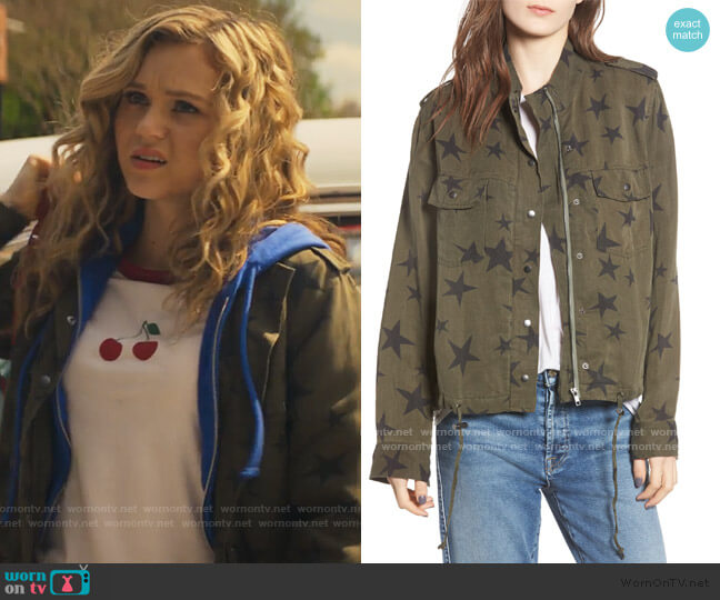Collins Star Jacket by Rails worn by Courtney Whitemore (Brec Bassinger) on Stargirl