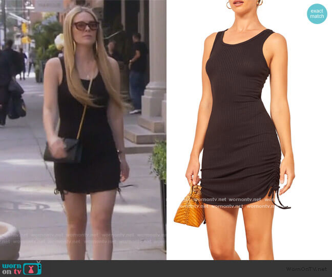 Aerin Body-Con Minidress by Reformation worn by Leah McSweeney  on The Real Housewives of New York City