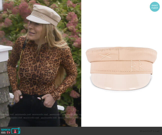 Baker Boy Cap by Ruslan Baginskiy worn by Leah McSweeney  on The Real Housewives of New York City