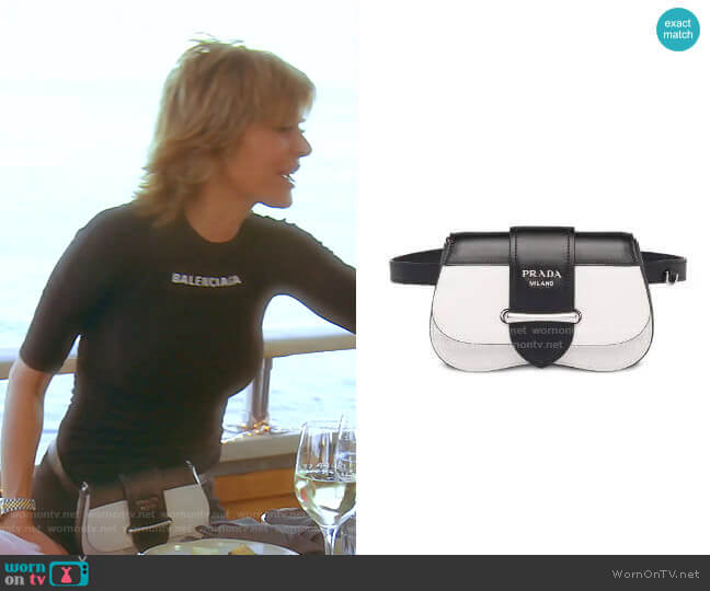 Sidonie Belt Bag by Prada worn by Lisa Rinna  on The Real Housewives of Beverly Hills