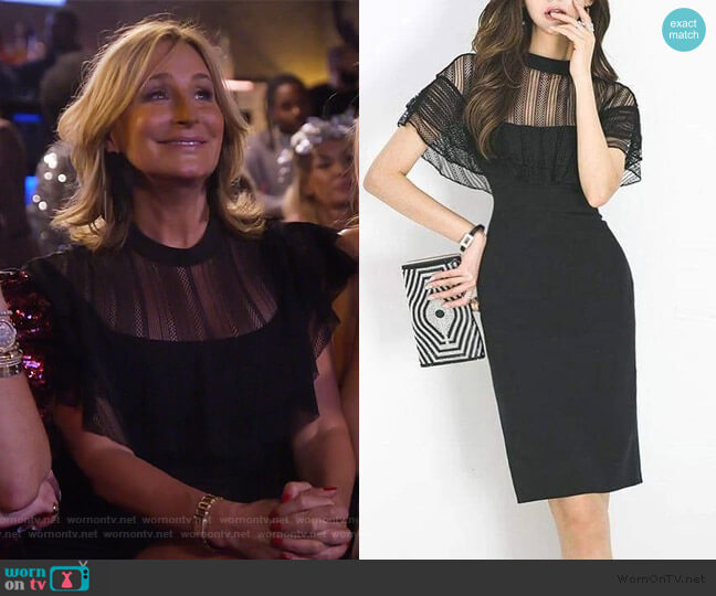 Charlotte Cocktail Dress by Sonja worn by Sonja Morgan  on The Real Housewives of New York City