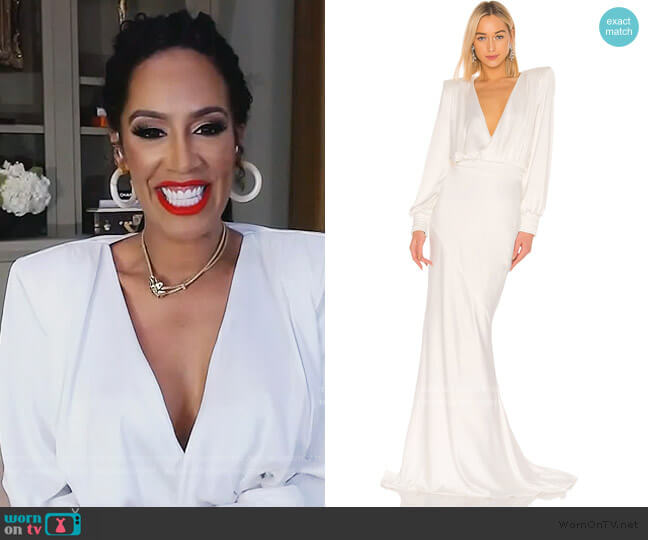 Betsy Gown by Zhivago worn by Tanya Sam on The Real Housewives of Atlanta