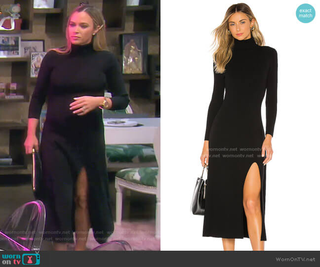 Ambrose Dress  by A.L.C. worn by Teddi Mellencamp Arroyave  on The Real Housewives of Beverly Hills