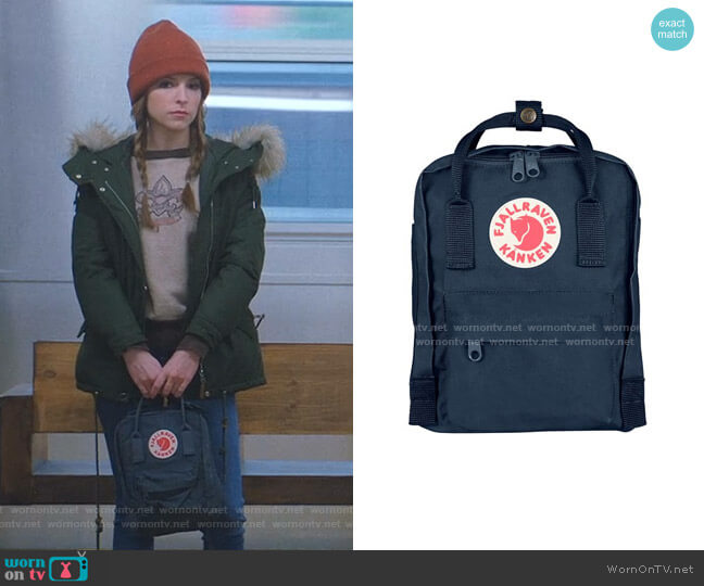 Kanken Backpack by Fjallraven worn by Darby (Anna Kendrick) on Love Life