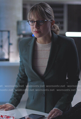 Kara's green blazer on Supergirl