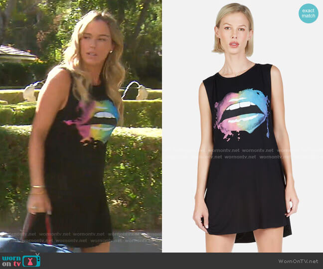 Deanna Dress by Lauren Moshi worn by Teddi Mellencamp Arroyave  on The Real Housewives of Beverly Hills