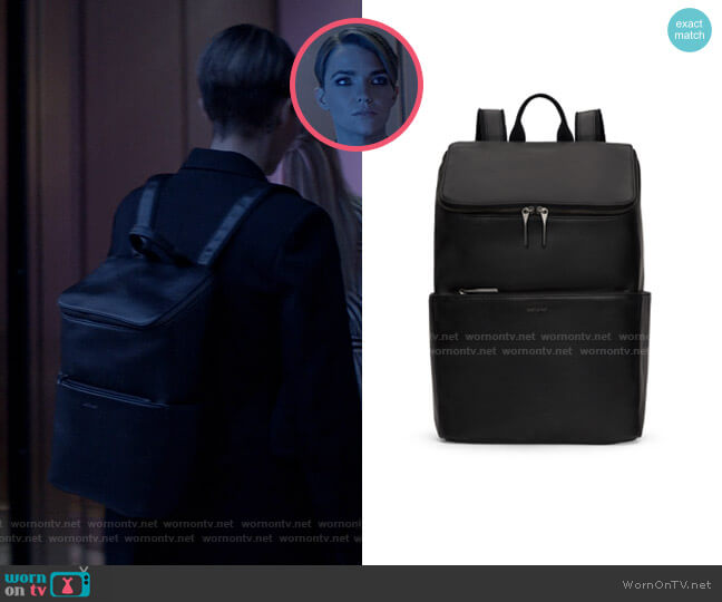 Dean Backpack by Matt & Nat worn by Kate Kane (Ruby Rose) on Batwoman