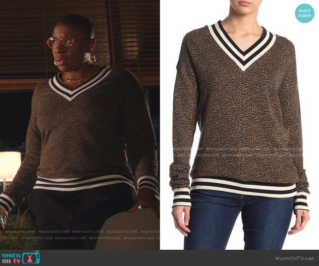 Ciao Sweater by n:PHILANTHROPY worn by Henrietta Wilson (Aisha Hinds) on 9-1-1