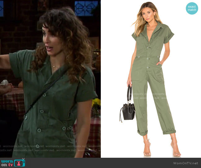 Grover Field Suit by Pistola worn by Sarah Horton (Linsey Godfrey) on Days of our Lives
