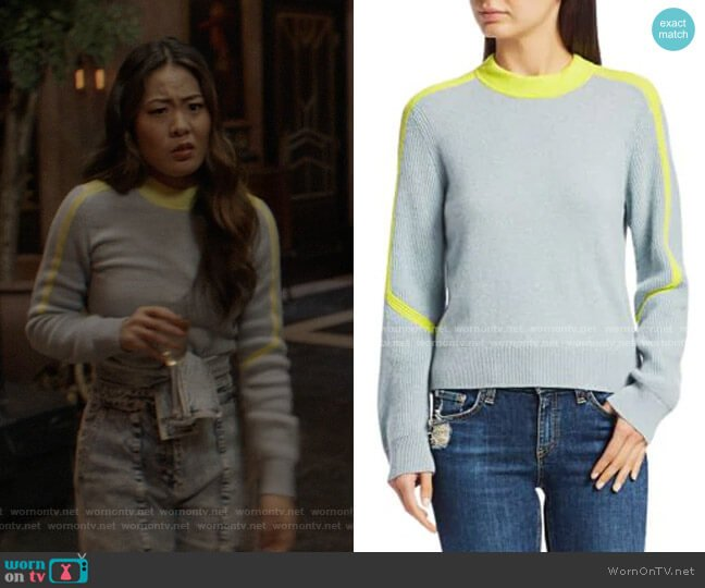 Logan Cashmere Ski Sweater by Rag & Bone worn by Mary Hamilton (Nicole Kang) on Batwoman