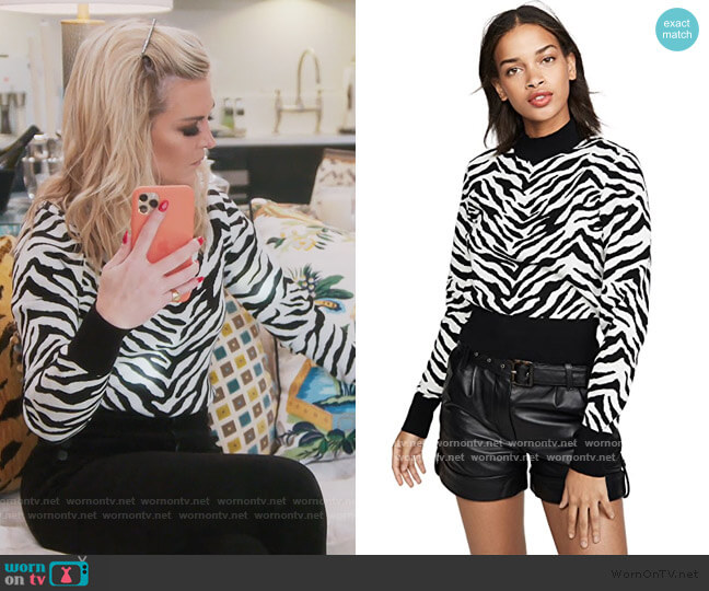 Lola Sweater by A.L.C. worn by Tinsley Mortimer  on The Real Housewives of New York City