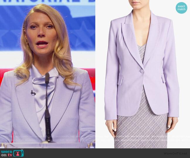 Single-Breasted Blazer by Adam Lippes worn by Georgina Hobart (Gwyneth Paltrow) on The Politician